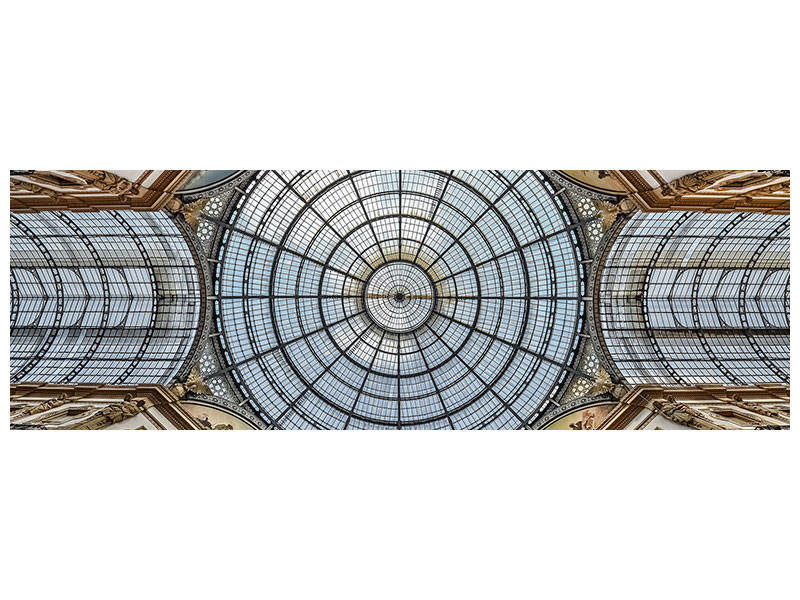 Panoramic Canvas Print Galleria Vittorio Emanuele