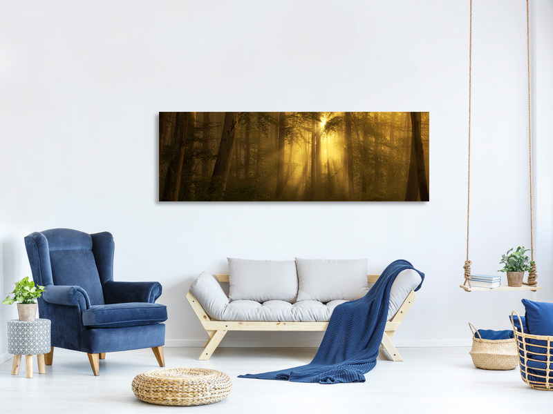 Tableau sur Toile Panoramique Yellow - The Bigger Picture
