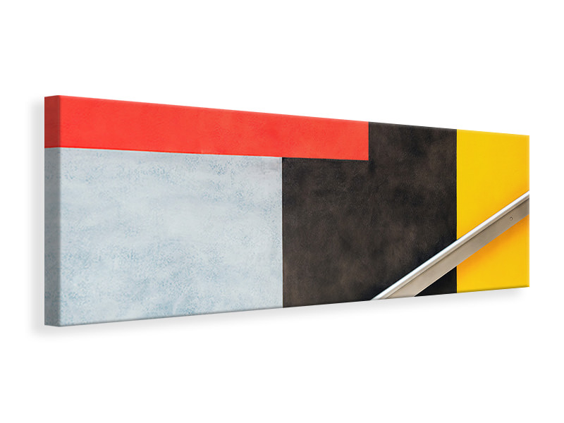 Panoramic Canvas Print Colour Block