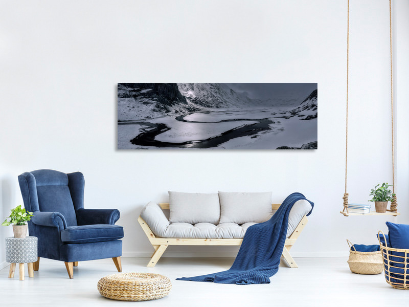 Panoramic Canvas Print Light Always Appears