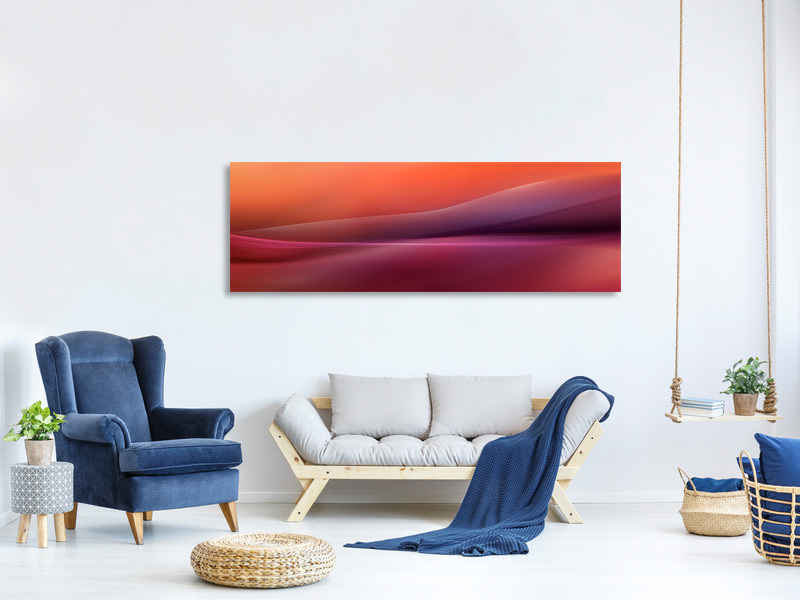 Panoramic Canvas Print A New Day