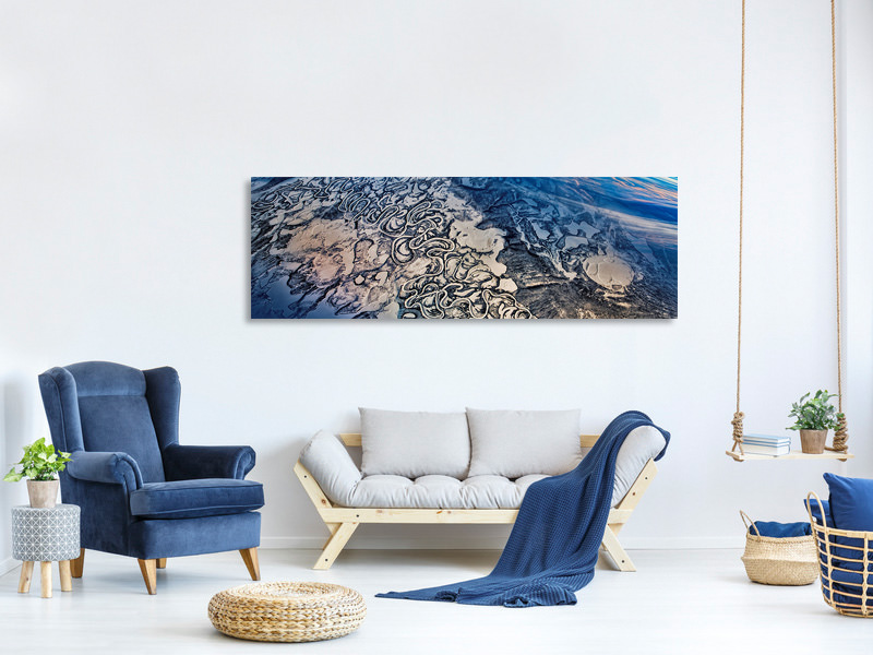Panoramic Canvas Print That Frozen River