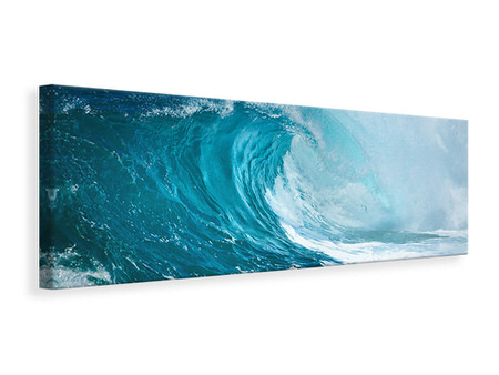 Panoramic Canvas Print The Perfect Wave