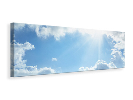 Panoramic Canvas Print Sky Hope
