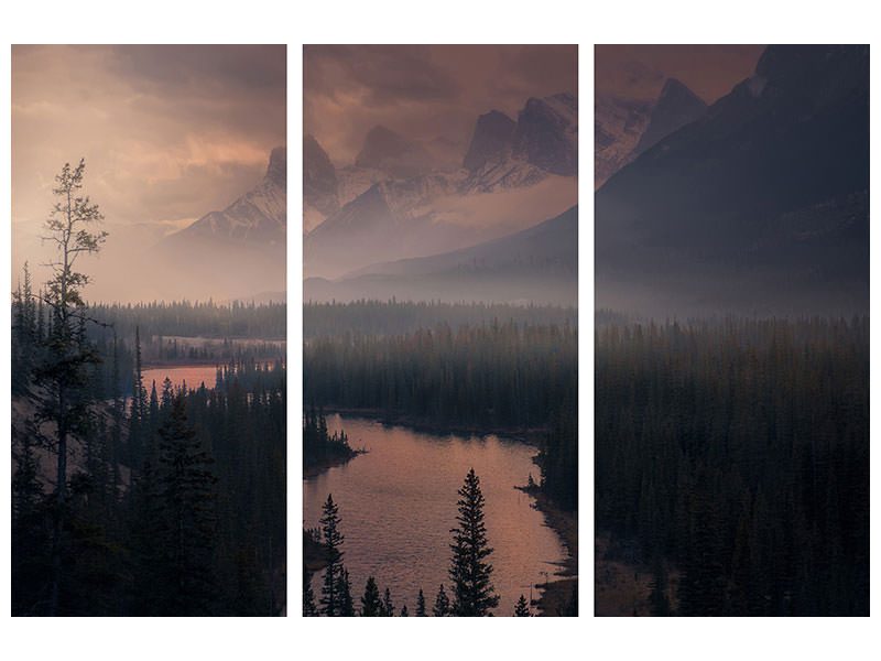 3 Piece Canvas Print The Revenant