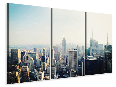 3 Piece Canvas Print NYC