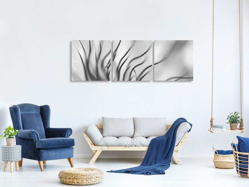 Panoramic 3 Piece Canvas Print Untitled 17