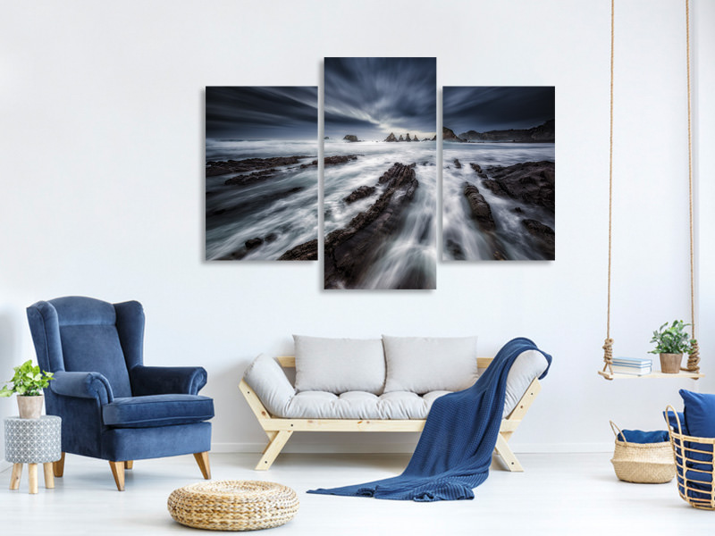 Modern 3 Piece Canvas Print Gueirua Dreams