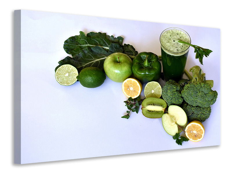 Canvas print green smoothie