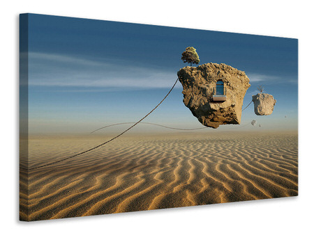 Canvas print Surreal Desert