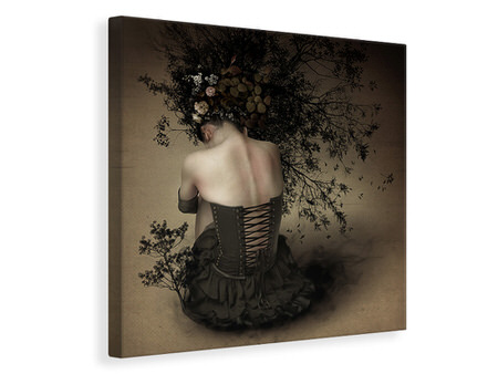 Canvas print Night Scented Girl