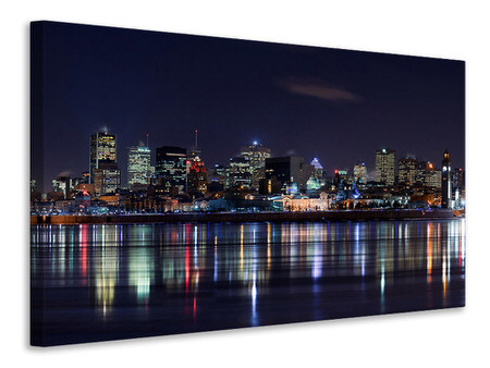 Canvas print Montreal Night