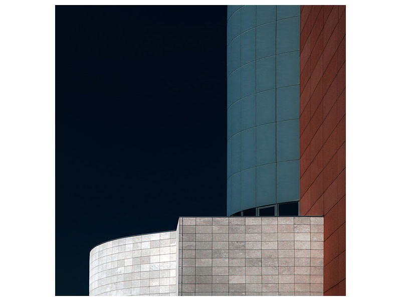 Canvas print Blue Tower