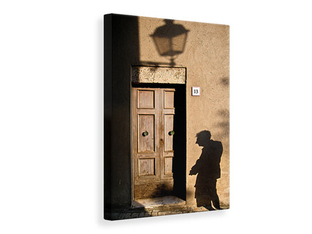 Canvas print Street and Shadow