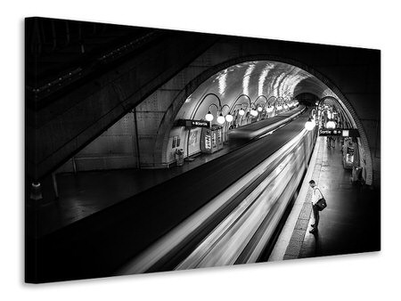 Canvas print Paris Metro