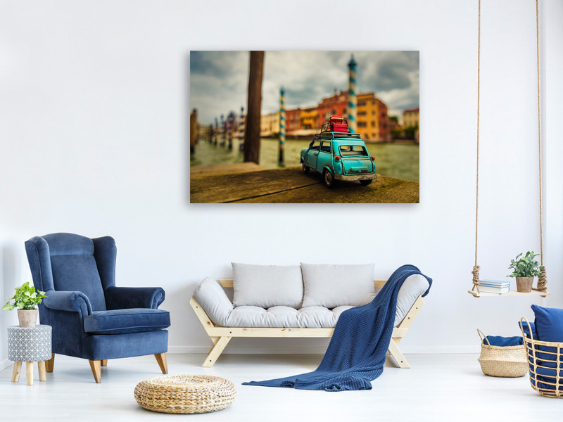 Canvas print Venice Stopped