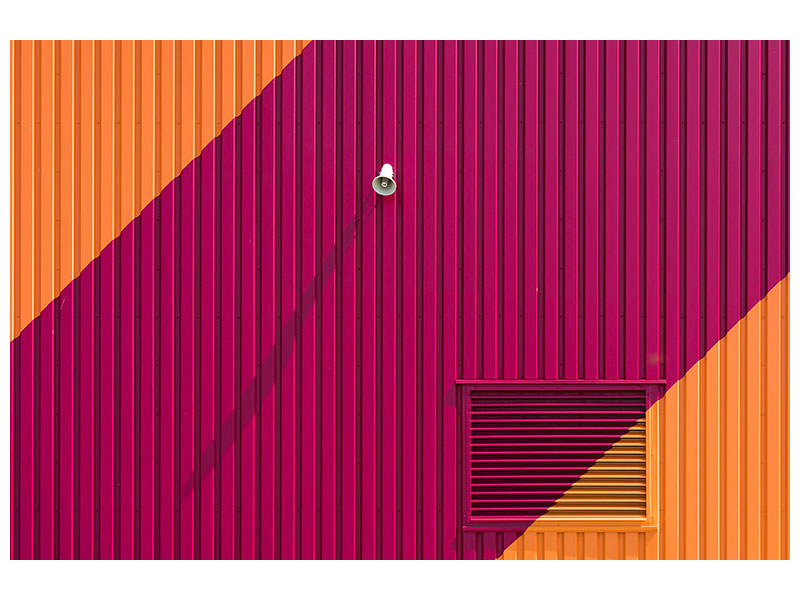 Canvas print Orange Corners