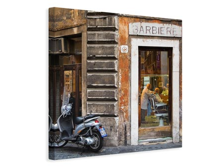 Canvas print Barbiere