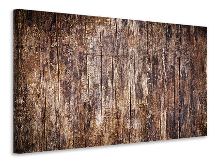 Canvas print Retro Wood