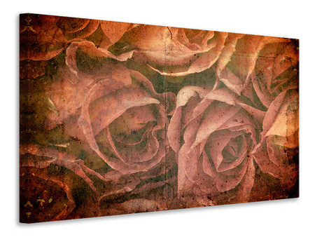 Canvas print Rose Bouquet