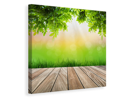 Canvas print Patio