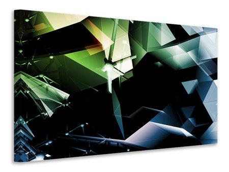 Canvas print 3D Polygon