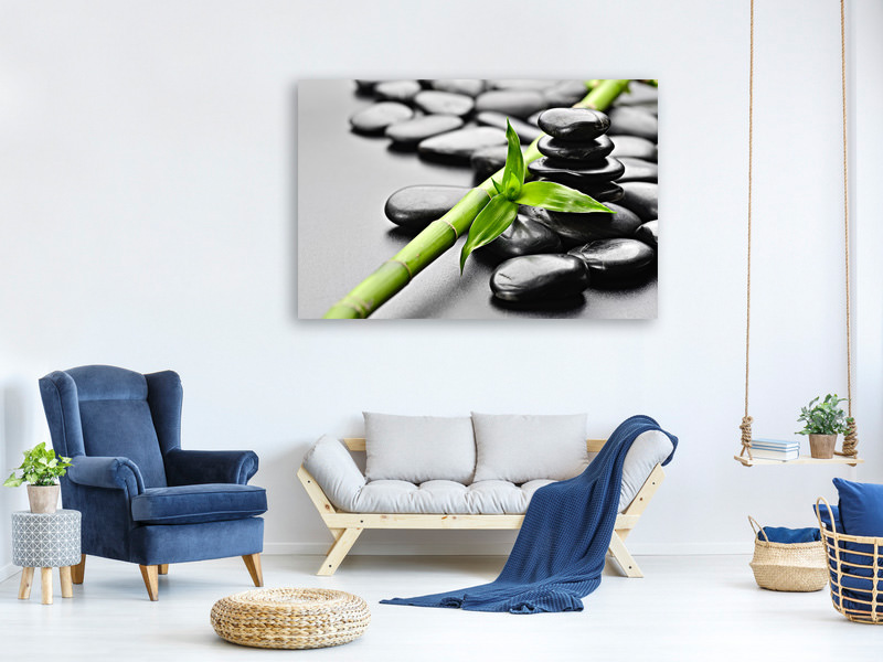 Canvas print Polished Stones