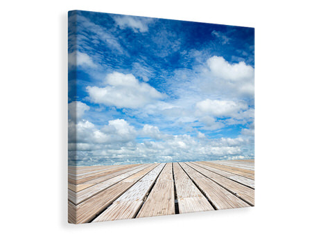 Canvas print Photo Wallaper High Above The Clouds