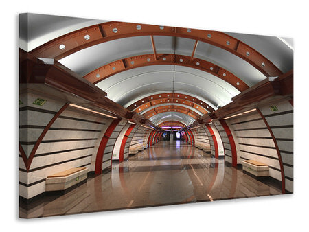 Canvas print Metro Station