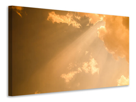Canvas print Evening Sky