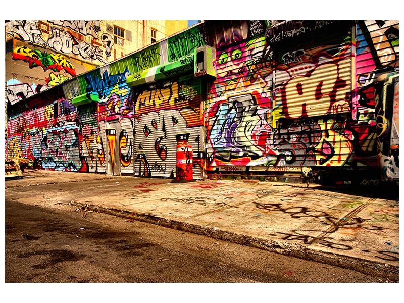 Canvas print Graffiti NY