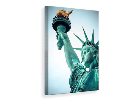 Canvas print Lady Liberty
