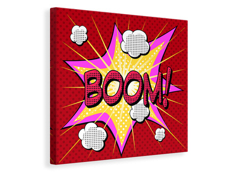 Canvas print Pop Art Boom